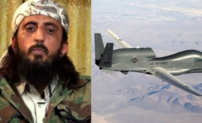U.S. drone kills Islamic State leader for Afghanistan, Pakistan: officials
