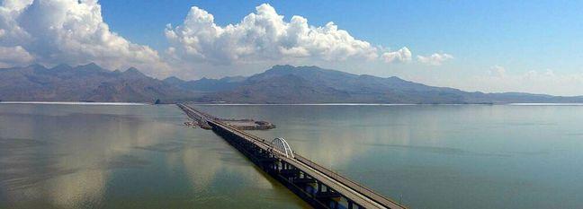 Water Level Rising in Urmia Lake