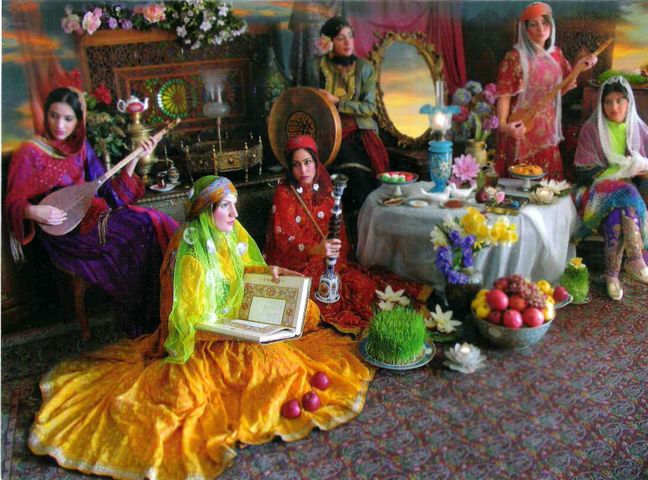 Norouz celebration of peace, humanity