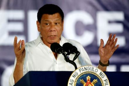 Philippines' Duterte calls U.S. envoys 'spies' over alleged ouster plot