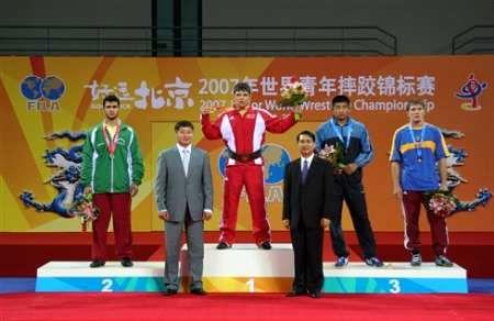 Iran junior Greco-Roman squad ranks 3rd in France