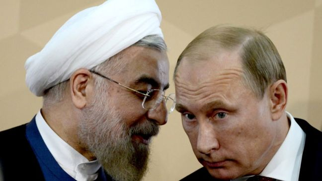 Iran, Russia presidents reaffirm fight against terrorism, welcome Syrian truce