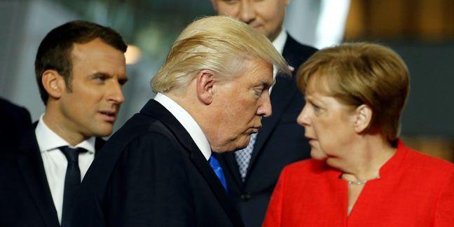 EU will act against U.S. tariffs on steel, aluminum: Merkel