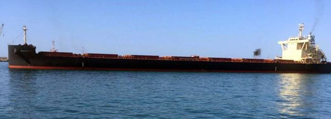 Largest Ever Bulk Carrier Docks at Iran's Chabahar Port