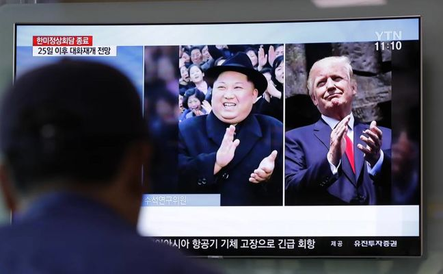 Prospects of U.S.-North Korea summit brighten after Trump's tweet