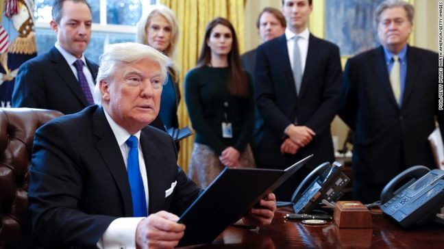 White House Defends Immigrant Ban After Travelers Stopped