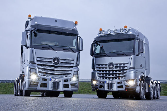 Mercedes-Benz, Iran Khodro Sign Truck Deal