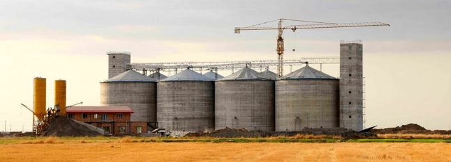 New Silos Under Construction to Build Up Wheat Reserves