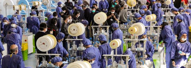 Facemask Production Hits 6.5 Million per Day