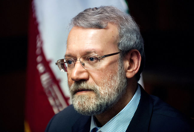 Larijani Thanks Beijing for Backing Tehran in Hard Times