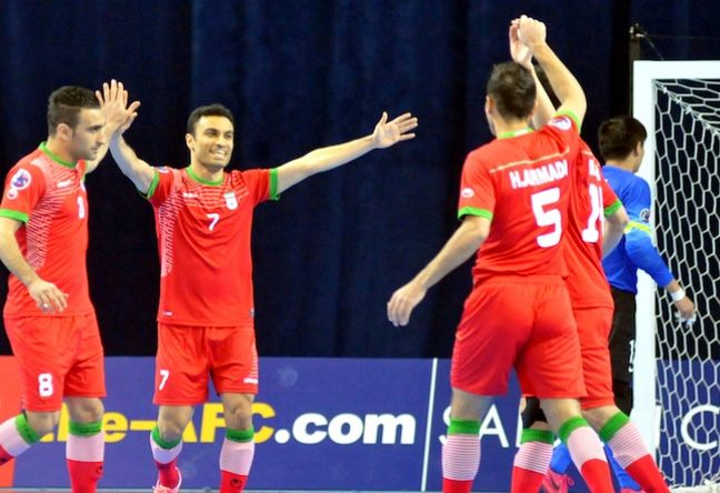 Iran's futsal 1st in Asia