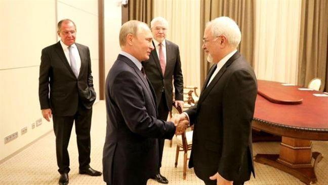 Zarif, Putin stress full commitment to Iran's nuclear agreement
