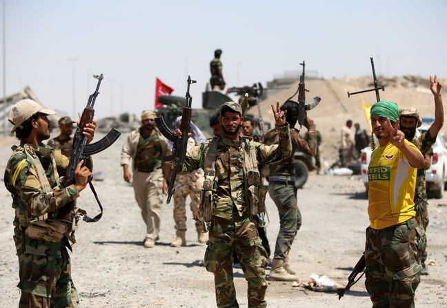 Samarra terrorist attack thwarted by Iraqi popular forces