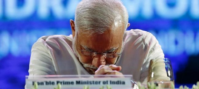 Modi Own Goal Swamps India's Big-Bang Year, Clouds 2017 Outlook