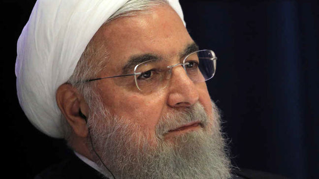 Iran's president says Tehran watches U.S. closely, but won't start conflict
