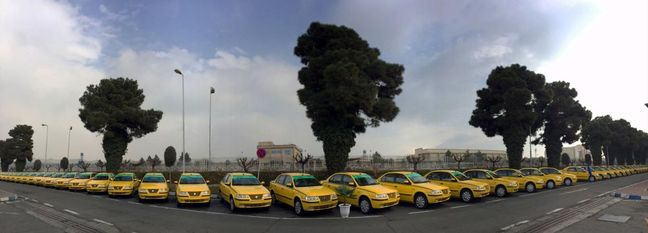 Iranian Carmaker to Help Renovate Taxis