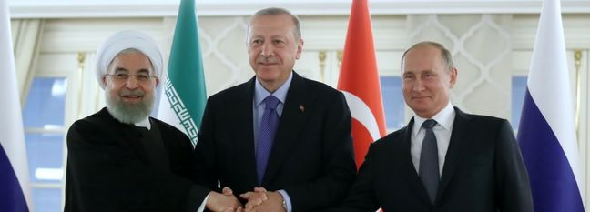 Iran, Russia, Turkey Agree Steps to Ease Tensions in Syria's Idlib