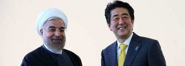 Abe's Advisor to Visit Iran