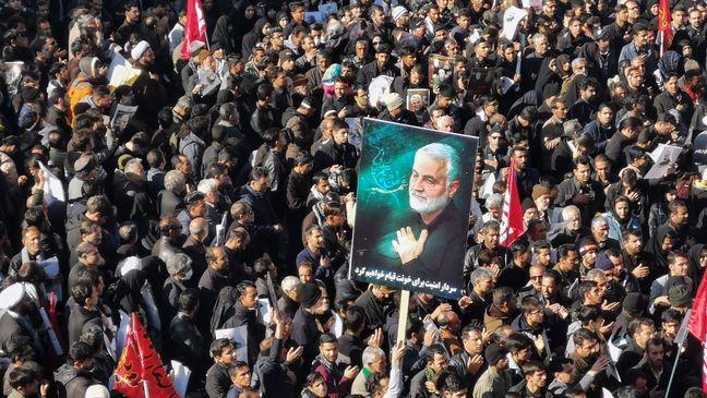 Historic Farewell to General Soleimani