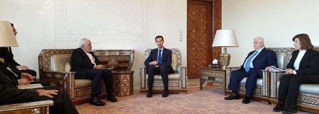 Zarif in Damascus to Coordinate Regional, Int'l Policies
