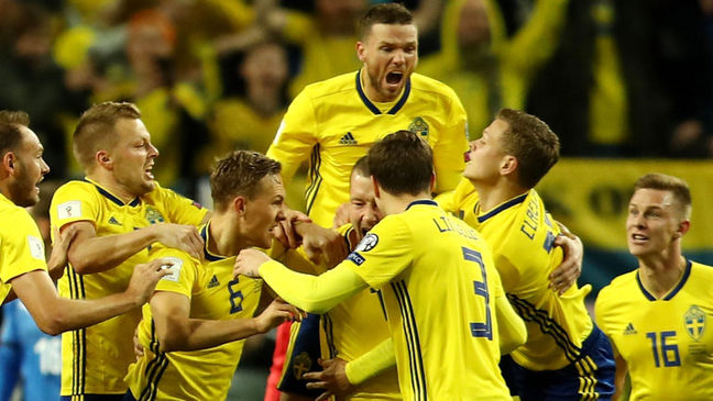 Confident Swedes relishing England showdown in Samara