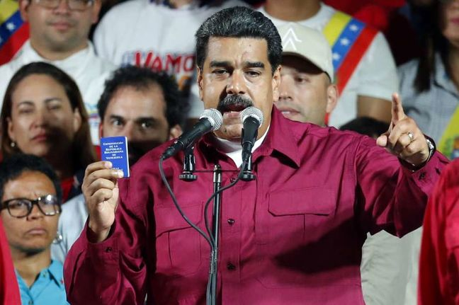 Venezuela's Maduro re-elected amid outcry over vote