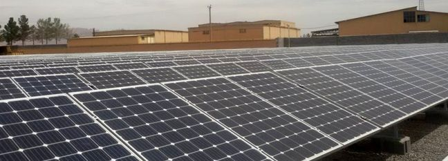 Small Solar Power Plants Open in Isfahan, Alborz