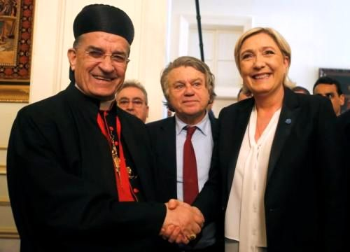 Le Pen Stirs Controversy in Lebanon Over Headscarf and Assad