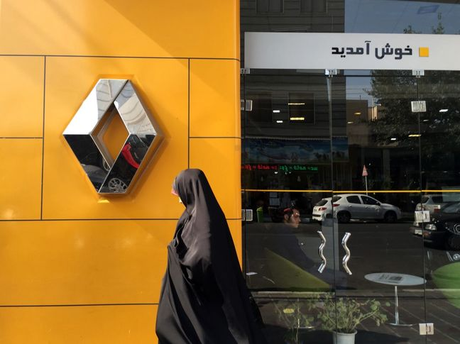 Renault to Stay in Iran