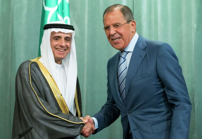 Iran in Syria at Damascus request, Lavrov tells Saudi FM