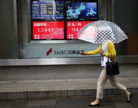 Asian stocks rise for eighth day on strong PMIs, Wall Street gains