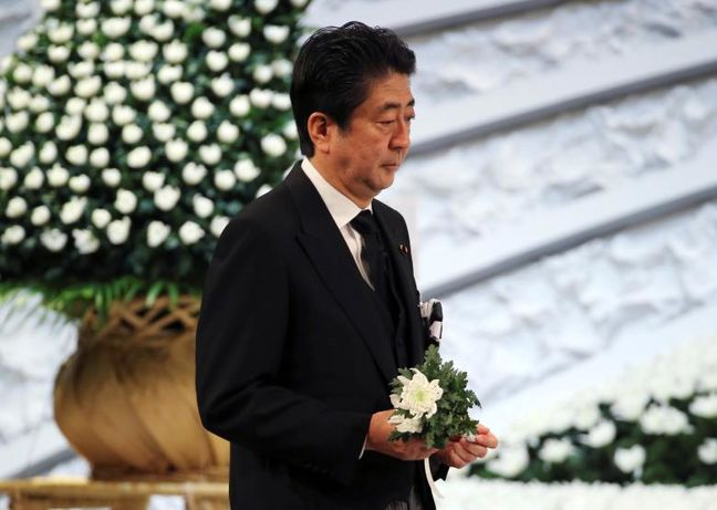 Abe Support Slumps to Record Low as Japan Public Loses Faith