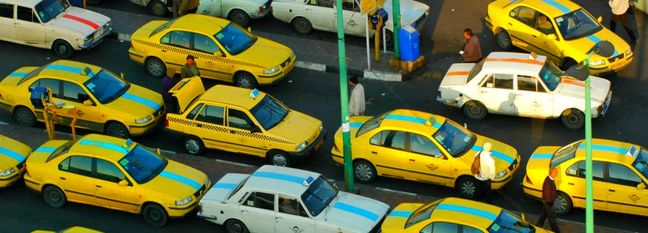 Taxi Fare Hike in Tehran Soon