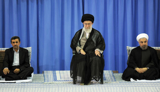 Iran's Supreme Leader to Ahmadinejad: Running for Iran President a Bad Idea