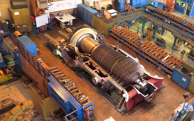 Locally Made F-Class Gas Turbine for Combined-Cycle Power Plant