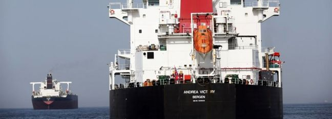 Bombed Tanker Shipping Fuel to Iran