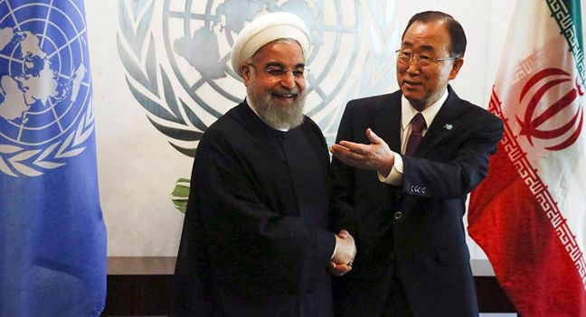 UN chief calls for Iran's help to end regional crises