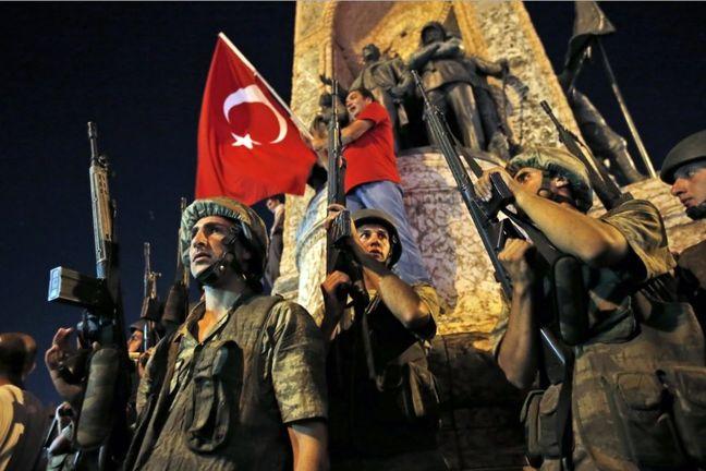 Turkish military officer seeking asylum in United States - U.S. officials