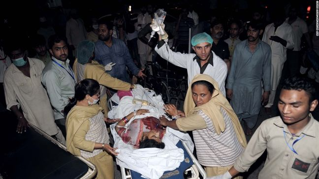 Blast in Pakistani city of Lahore kills at least four, official says