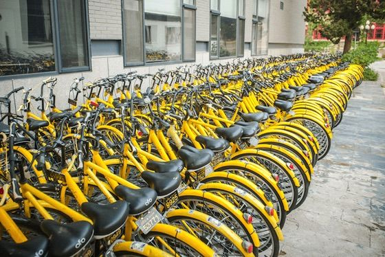 Ofo Becomes Chinese Bike-Sharing Unicorn After Giant Fundraising