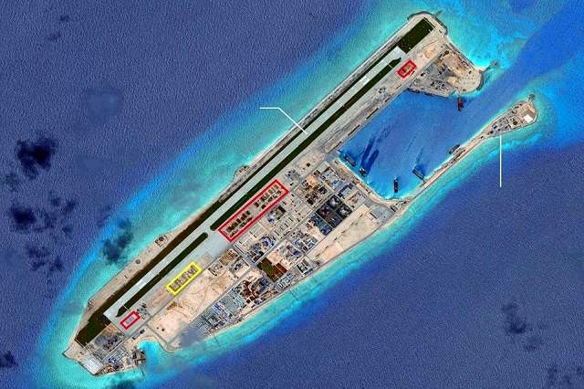 China finishing South China Sea buildings that could house missiles - U.S. officials