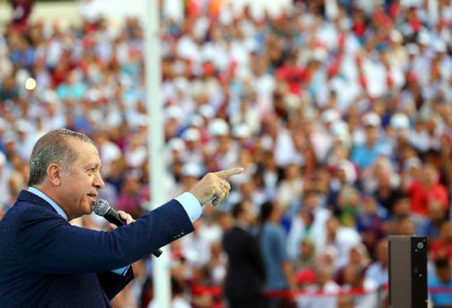 Erdogan's Party to Send Cash to 12 Million Turks Before Election