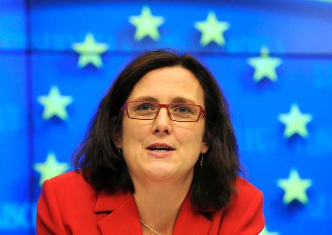 EU, U.S. trade deal not dead yet: EU's Malmstrom