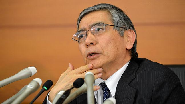 BOJ chief Kuroda says 'no reason' to withdraw stimulus now