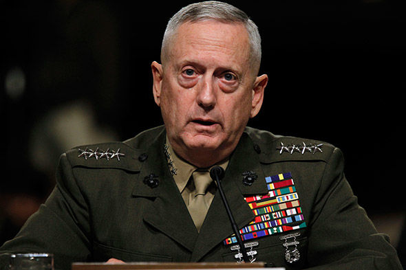Trump's defense chief sees no military collaboration with Russia