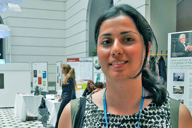 Iranian female mathematician wins top European math prize