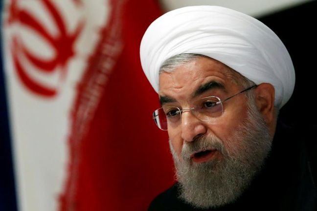 Rouhani: Iranian nation to stand by Syrian nation