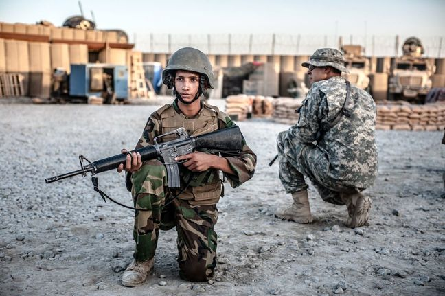 Dozens of Afghan troops missing from military training in U.S.