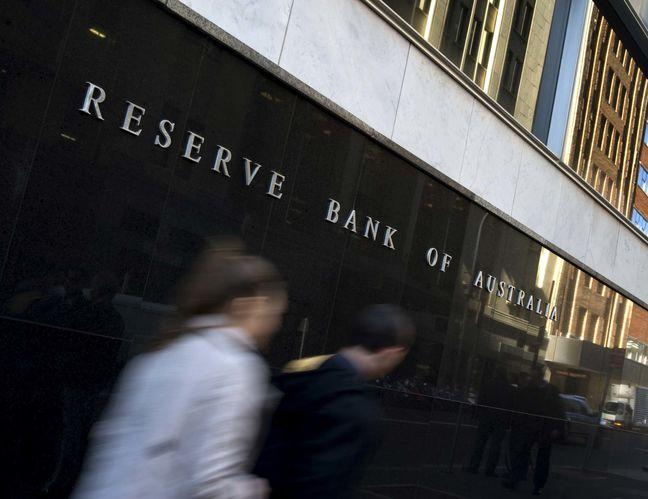 Asian shares advance, Australia slips as RBA rate decision awaited