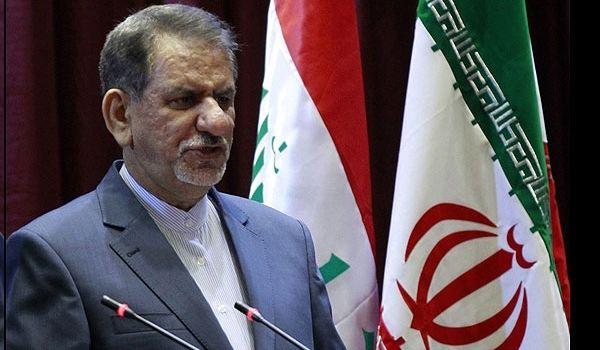 Jahangiri: Iran stands by Iraqi brothers, Kurdistan region administration